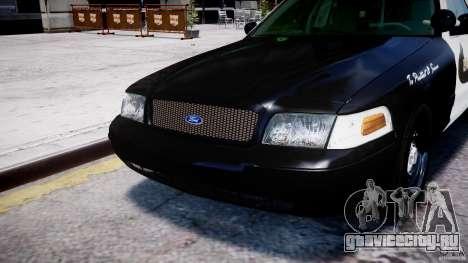 Ford Crown Victoria Massachusetts Police [ELS] для GTA 4