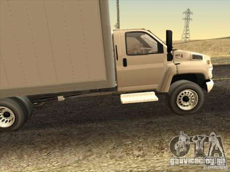 GMC 5500 2001 для GTA San Andreas вид слева