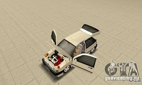 Fiat Tipo 2.0 16V 1995 для GTA San Andreas вид сзади