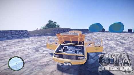 Chevrolet Caprice Taxi для GTA 4 вид сбоку
