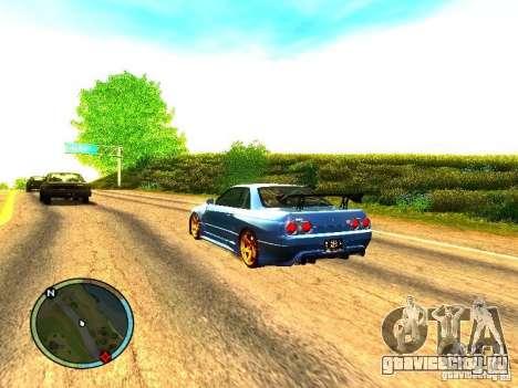 Nissan Skyline B324R для GTA San Andreas вид справа