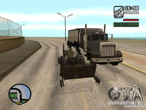Автомобили с прицепами для GTA San Andreas пятый скриншот