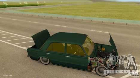 ВАЗ 2101 Low & Classic для GTA San Andreas вид сзади