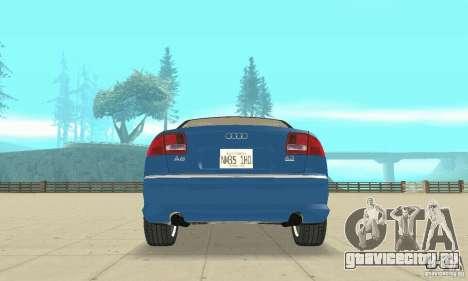 Audi A8L 4.2 FSI для GTA San Andreas колёса
