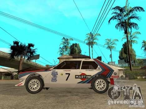 Lancia Delta S4 Martini Racing для GTA San Andreas