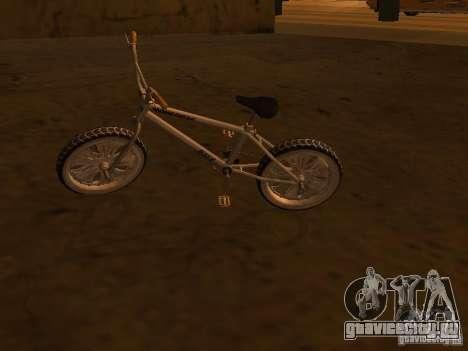 New Bmx для GTA San Andreas вид сзади слева