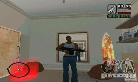 AA-12 дробовик для GTA San Andreas четвёртый скриншот