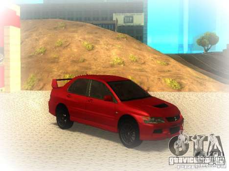Mitsubishi Lancer Evolution IX MR 2006 для GTA San Andreas