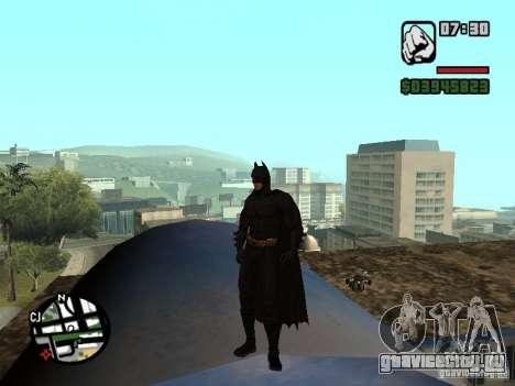 Бэтмен для GTA San Andreas второй скриншот