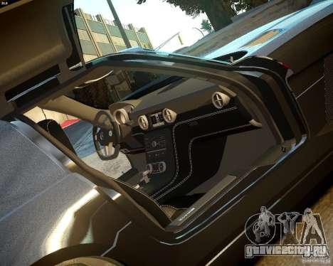 Mercedes SLS Extreme для GTA 4 вид сзади