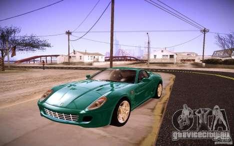 Ferrari 599 GTB Fiorano 2010 для GTA San Andreas