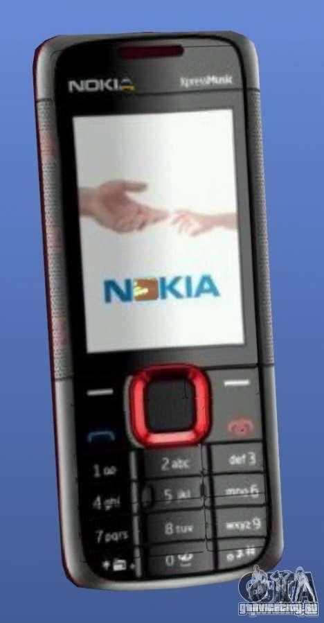 Мобильный телефон Nokia 5130 Xpressmusic для GTA 4