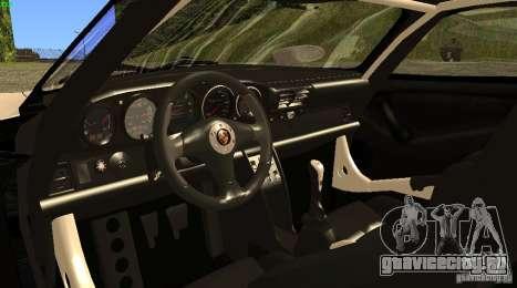 Porsche 911 GT1 Evolution Strassen Version 1997 для GTA San Andreas вид сзади слева