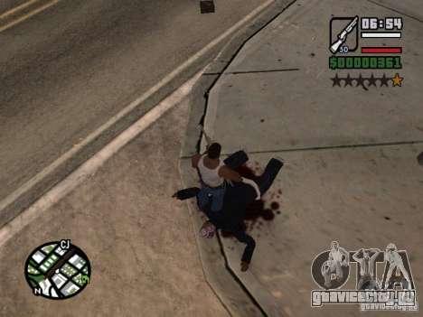 Новая текстура крови для GTA San Andreas второй скриншот