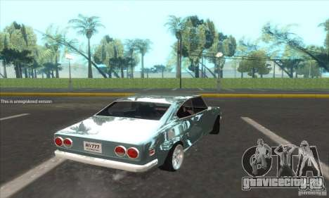 Mazda RX-2 2-door Coupe US для GTA San Andreas вид слева