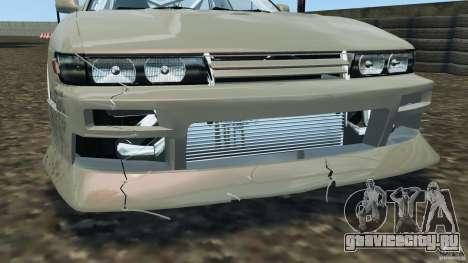 Nissan Silvia S13 DriftKorch [RIV] для GTA 4 двигатель