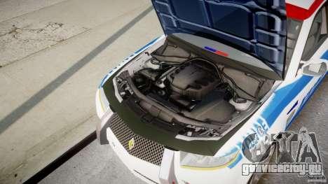 Carbon Motors E7 Concept Interceptor NYPD [ELS] для GTA 4 вид сверху