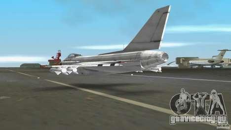 J-10 для GTA Vice City вид справа