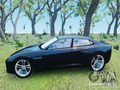 Lamborghini Estoque для GTA 4 вид слева