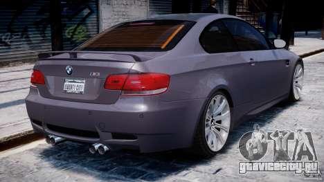BMW M3 E92 stock для GTA 4 двигатель