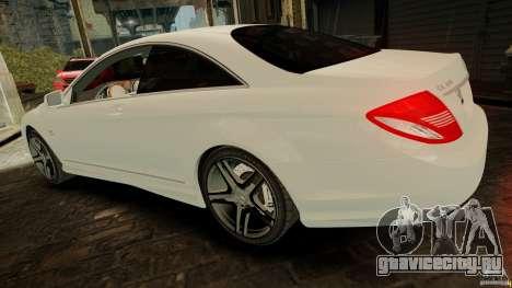 Mercedes-Benz CL65 AMG Stock для GTA 4 вид справа