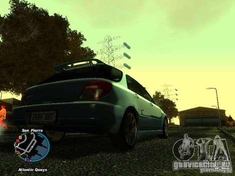 Subaru Impreza Wagon 2004 - 2002 для GTA San Andreas вид слева
