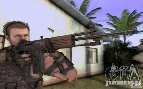 IMI GALIL AR для GTA San Andreas второй скриншот