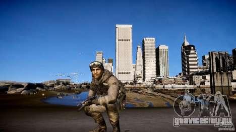 Капитан Прайс из COD MW3 для GTA 4 седьмой скриншот