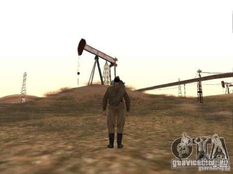 Скин Советского солдата ВОВ для GTA San Andreas четвёртый скриншот