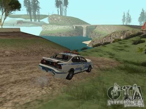Police из ГТА 4 для GTA San Andreas вид сбоку
