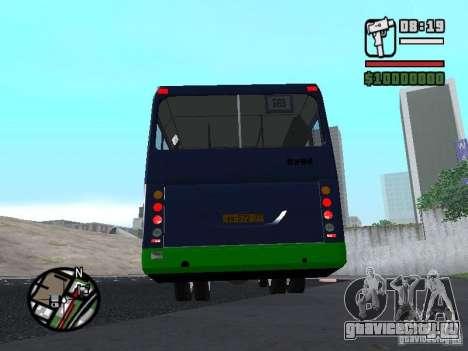 ЛиАЗ 5256.25-II для GTA San Andreas вид сзади слева