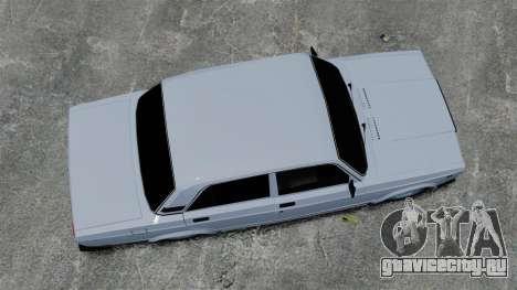 ВАЗ-2107 2011 DAG для GTA 4 вид справа