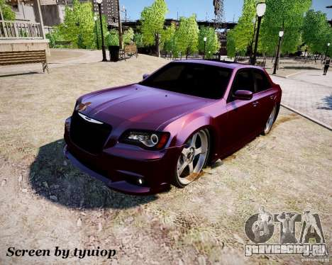 Chrysler 300 SRT8 DUB 2012 для GTA 4
