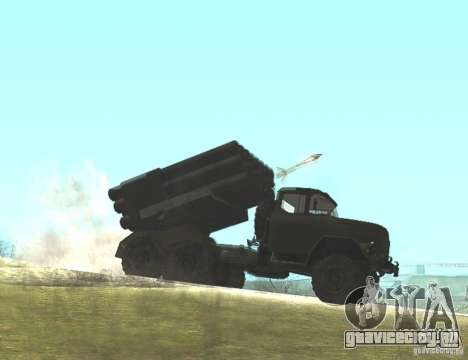 ЗИЛ-131В Град для GTA San Andreas вид справа