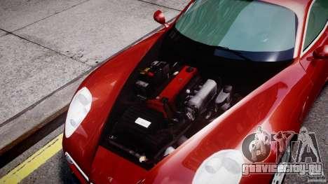 Alfa Romeo 8C Competizione для GTA 4 вид сзади
