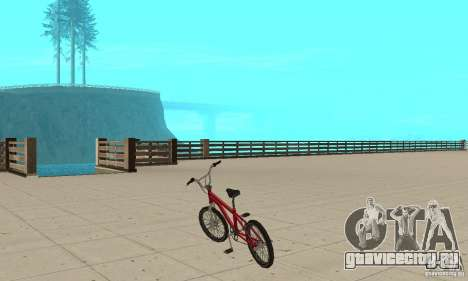 SA BMX для GTA San Andreas вид сзади слева