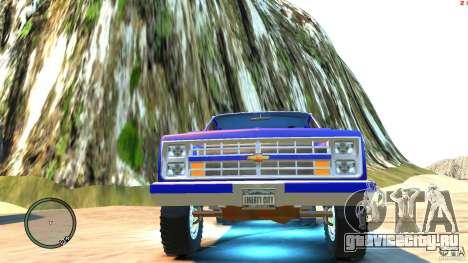 Chevrolet Suburban 1986 для GTA 4 вид сбоку