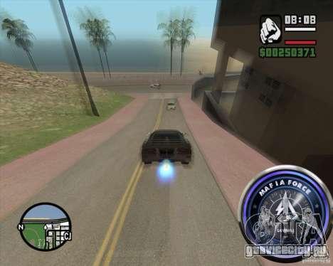 Спидометр-2 для GTA San Andreas третий скриншот