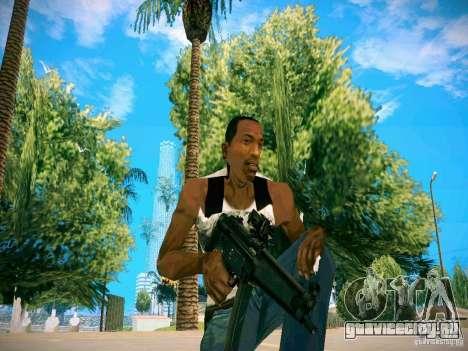 HD пак оружия для GTA San Andreas пятый скриншот