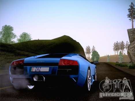 Lamborghini Murcielago LP640 для GTA San Andreas вид слева