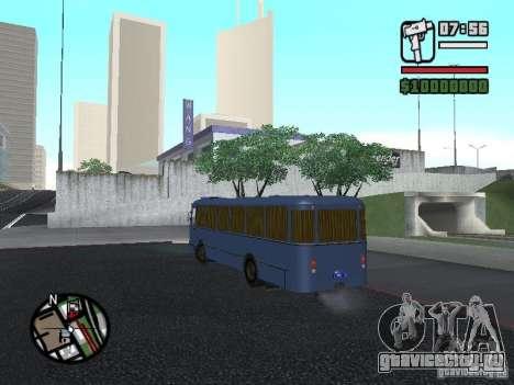 ЛиАЗ 677Ш для GTA San Andreas вид сзади