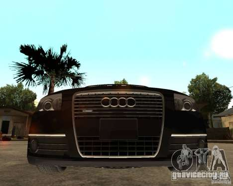 Audi A6 3.0 TDI Quattro для GTA San Andreas вид справа