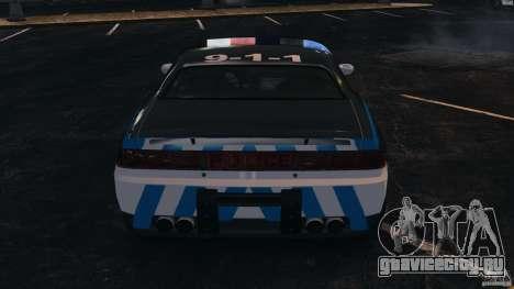 NFSOL State Police Car [ELS] для GTA 4 вид снизу