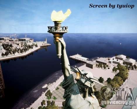 New Statue of Liberty для GTA 4 четвёртый скриншот