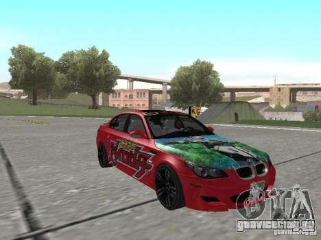 BMW M5 E60 для GTA San Andreas двигатель