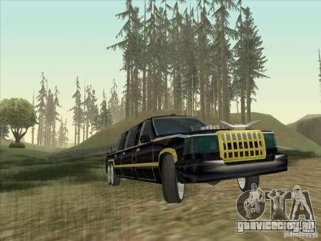 Limousine для GTA San Andreas вид сзади