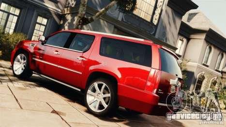 Cadillac Escalade ESV Platinum 2012 для GTA 4 вид слева