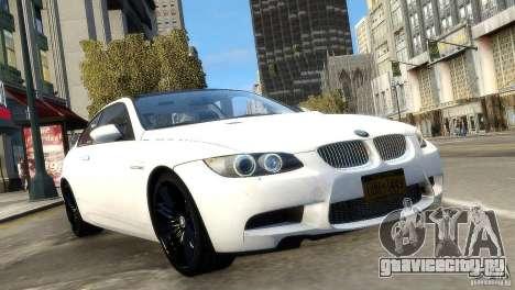 BMW M3 E92 2008 v1.0 для GTA 4 вид справа