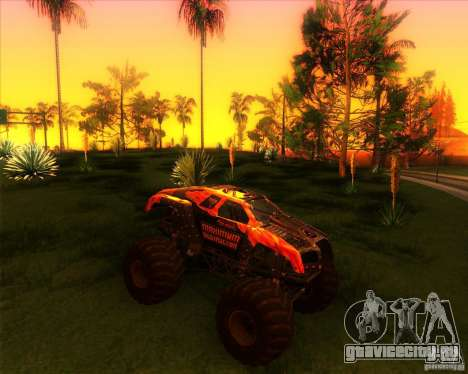 Monster Truck Maximum Destruction для GTA San Andreas