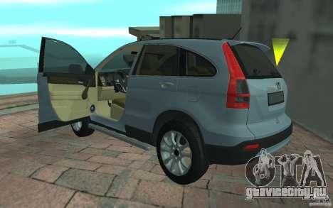 Honda CR-V для GTA San Andreas вид слева